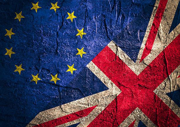 Politic relazioni tra l'Unione europea e la Gran Bretagna. Obiettivo - foto stock