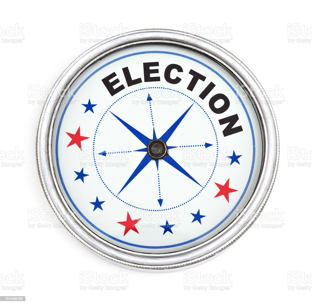 Political direction royalty-free stock photo