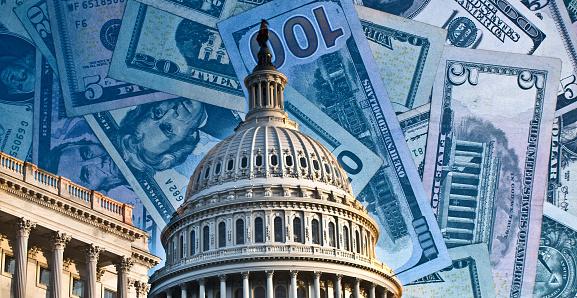Political fund raising for Congress - running for reelection - washington politics