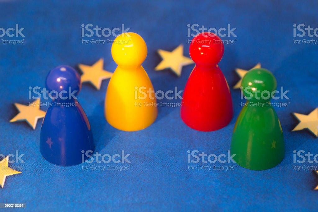 UK Political Parties stock photo