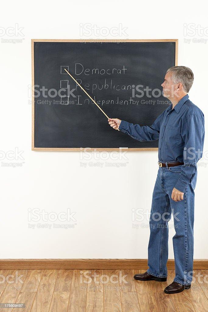 Sciences politiques de classe - Photo