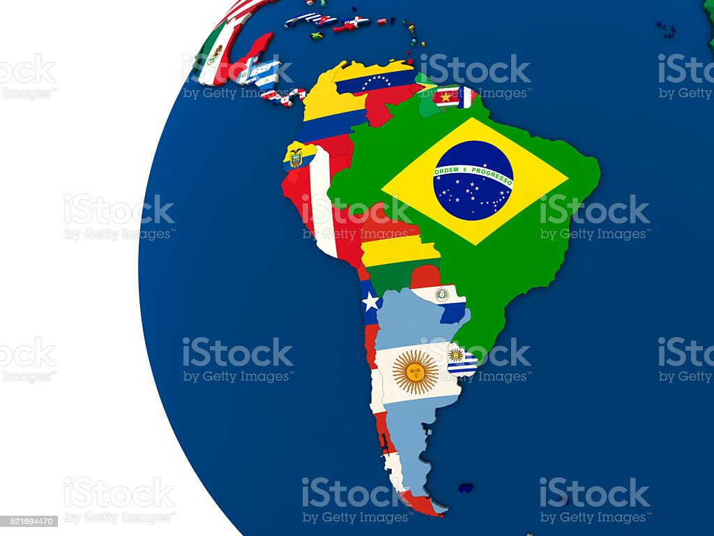Political South American Map.Political South America Map Stock Photo More Pictures Of