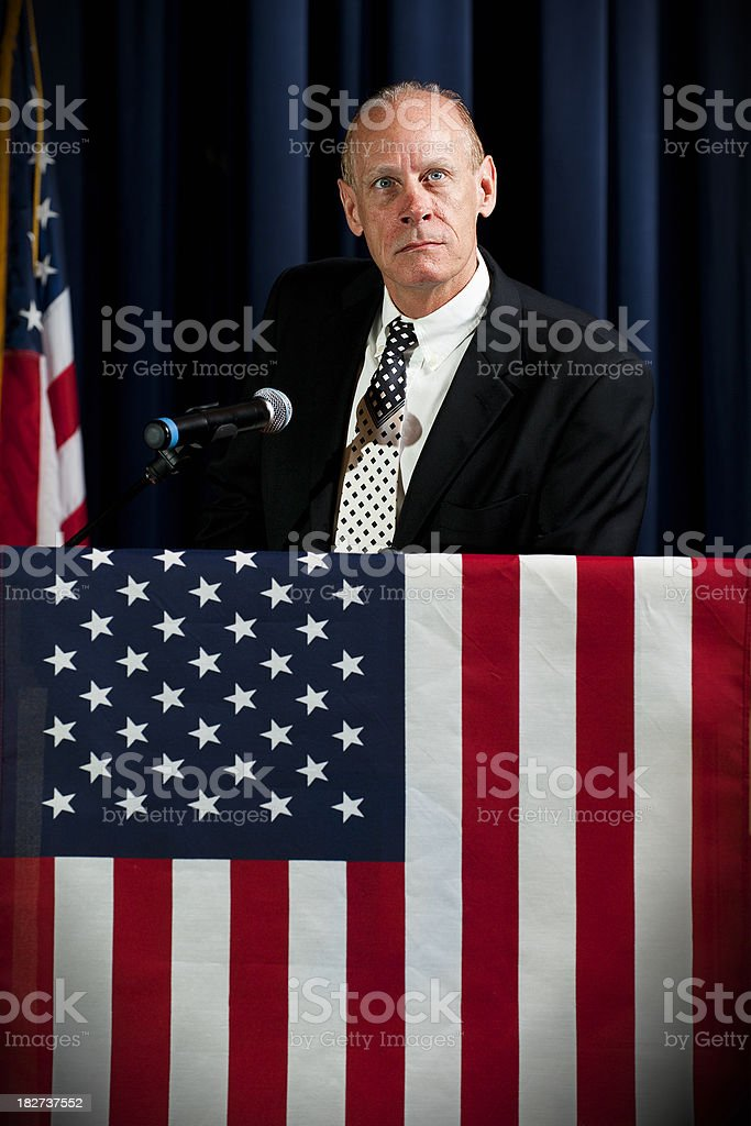 Political Statement stock photo