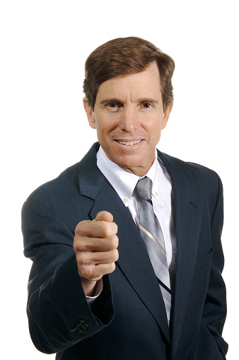 Politician Grip Stock Photo - Download Image Now