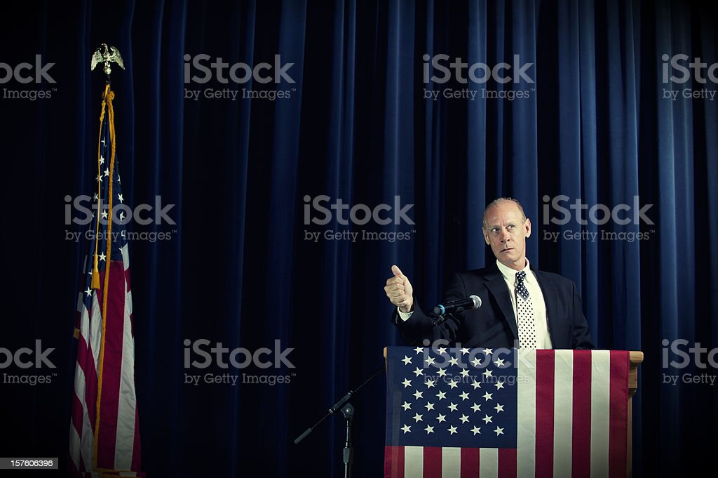 Politico royalty-free stock photo