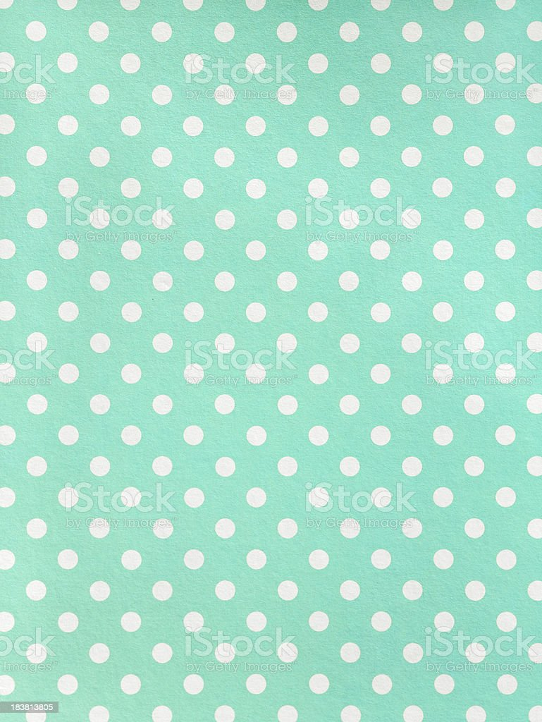 Polka dot Paper royalty-free stock photo