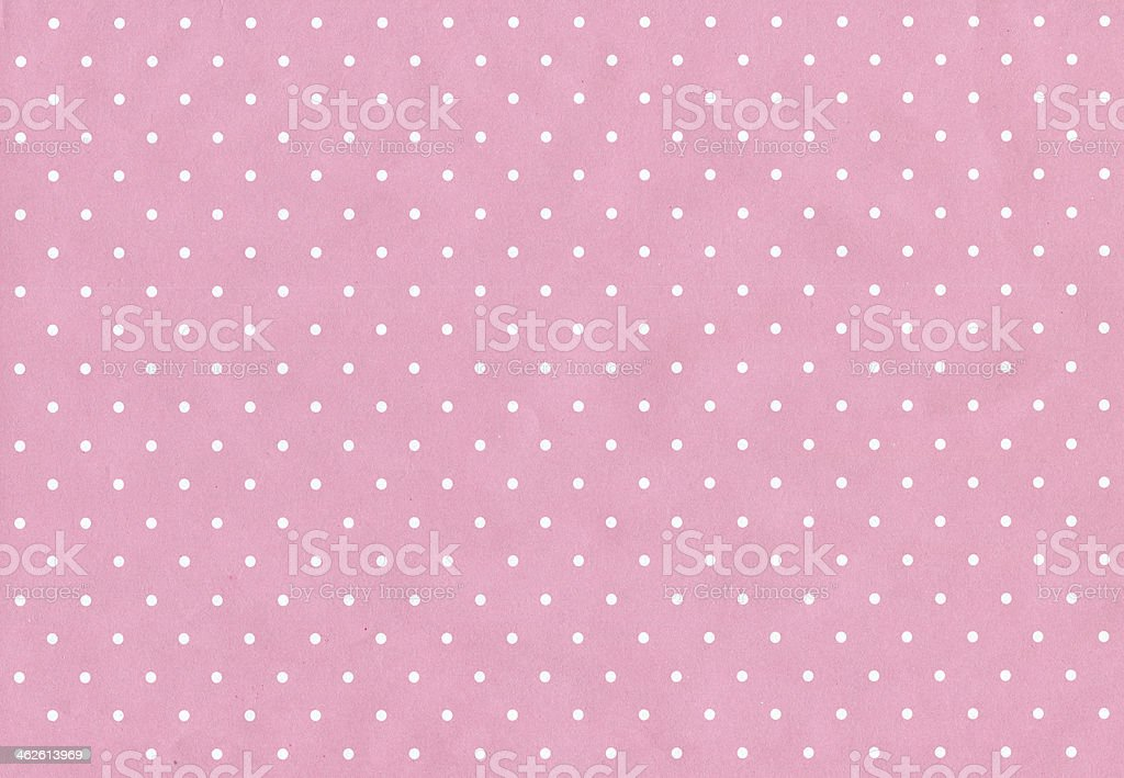Polka dot Paper texture stock photo