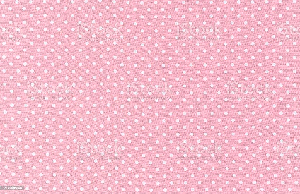 Polka dot pattern stock photo