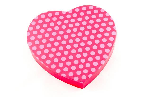 Polka Dot Valentine stock photo