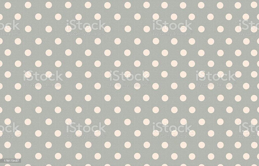 polka dot with grey pastel color background royalty-free stock photo