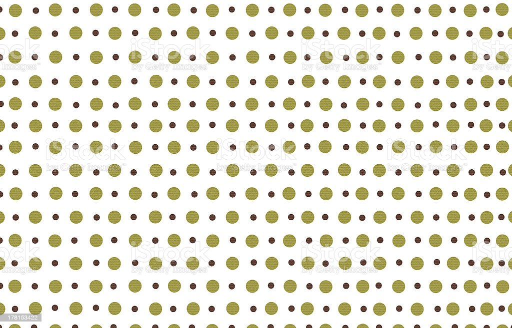 polka dot with white pastel color background royalty-free stock photo