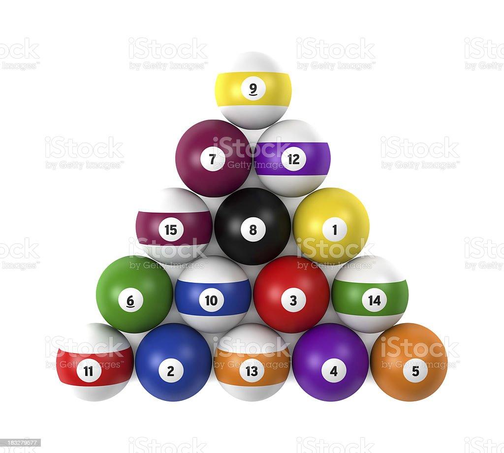 Poll balls stock photo