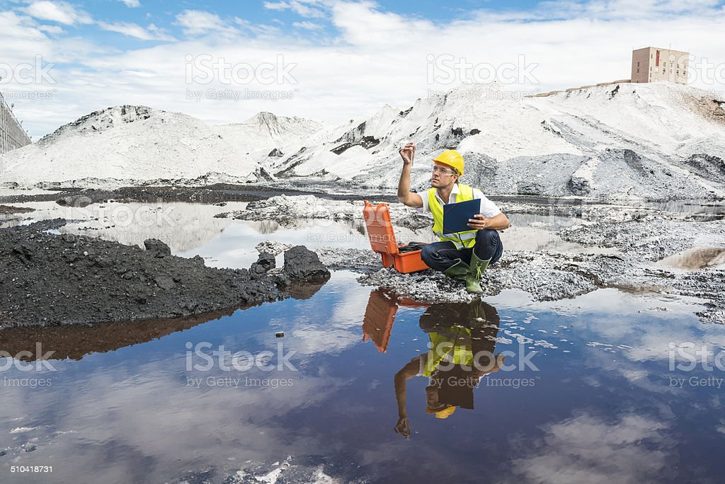 Pollution Assessment stock photo