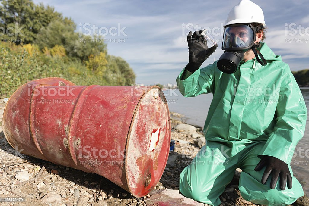 Pollution control stock photo