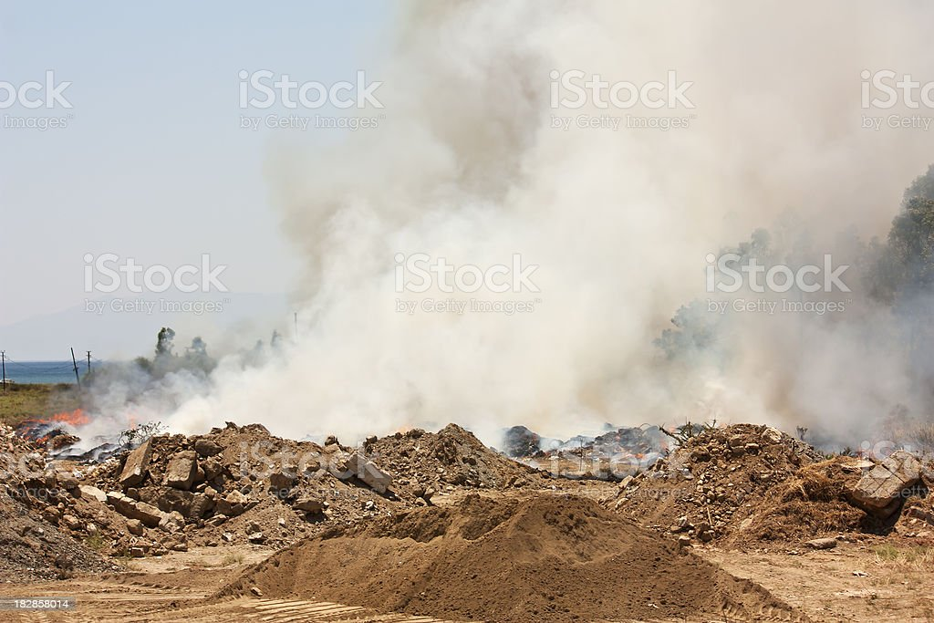 pollution, outdoor photo beauty in nature royalty-free stock photo