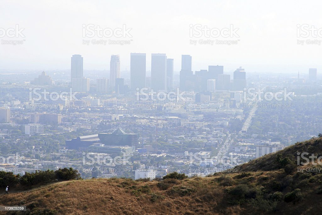 L.A. Pollution royalty-free stock photo