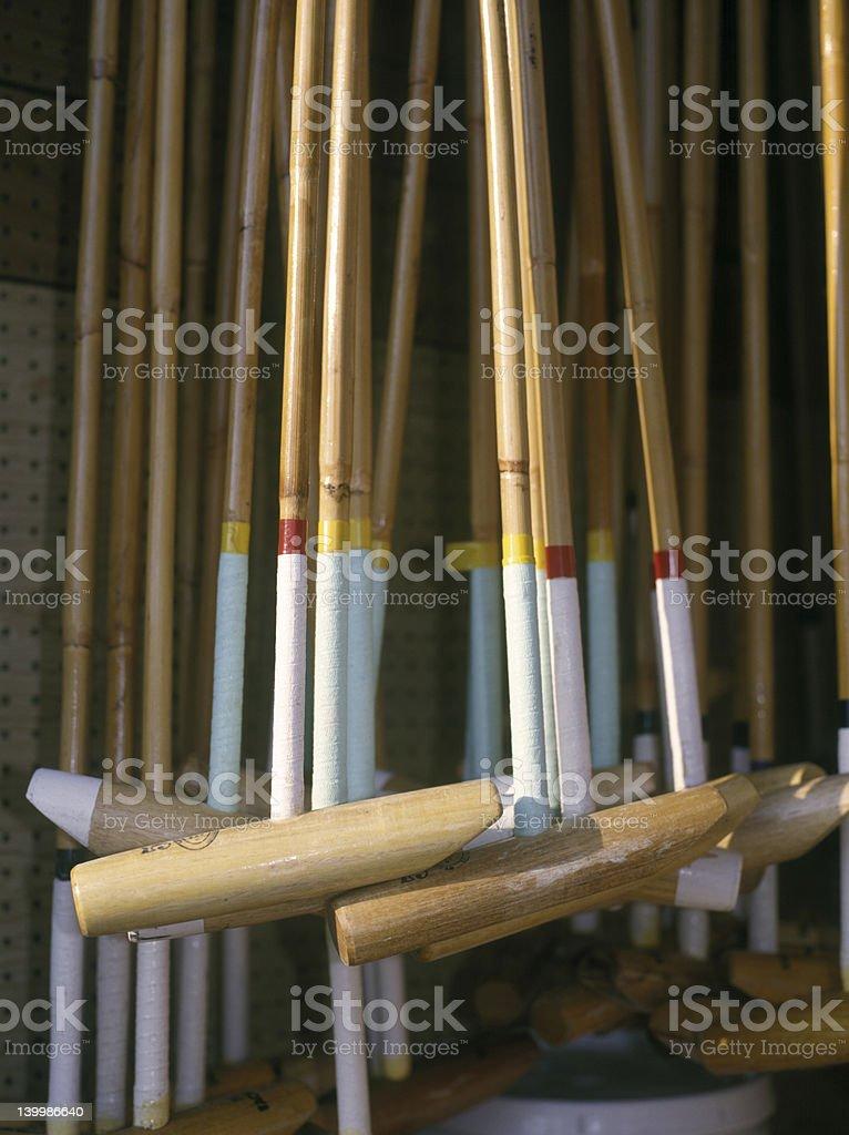 Polo clubs stock photo