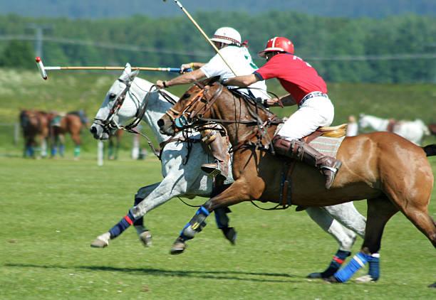 Polo-Spieler in voll – Foto