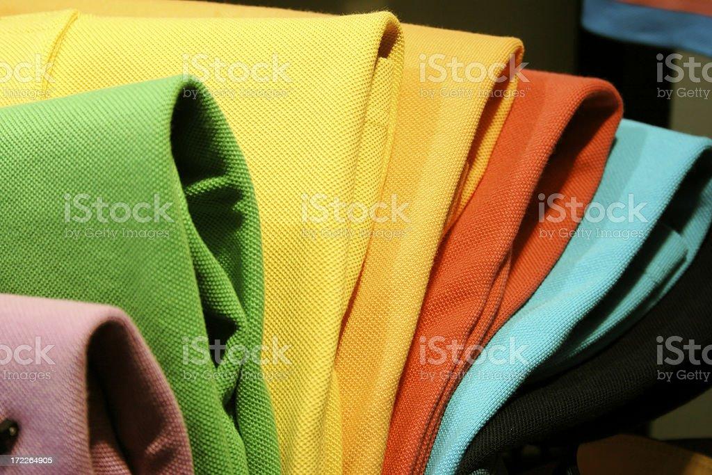 polo shirts royalty-free stock photo