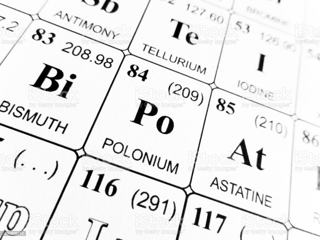 Polonium on the periodic table choice image periodic table images polonium on the periodic table of the elements stock photo istock polonium on the periodic table gamestrikefo Gallery