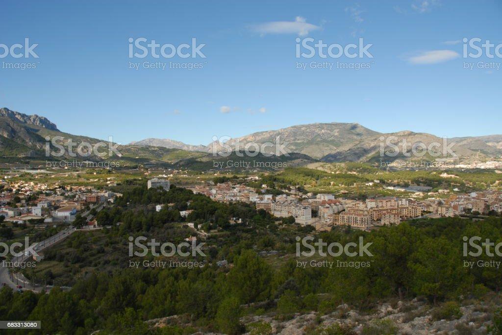 Polop de la Marina - Costa Blanca - Spanien zbiór zdjęć royalty-free