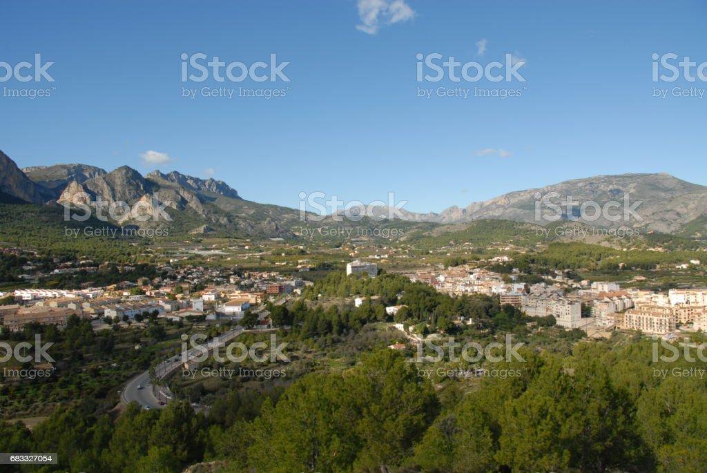 Polop de la Marina - Costa Blanca - Spanien foto stock royalty-free