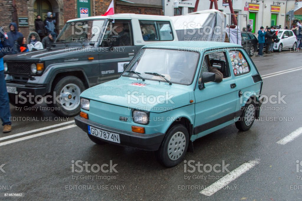 ポルスキ フィアット 126 P 車ポ...