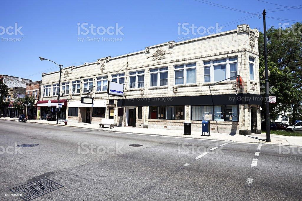 Polskie Centrum Medyczne in Polish Village,  Chicago royalty-free stock photo