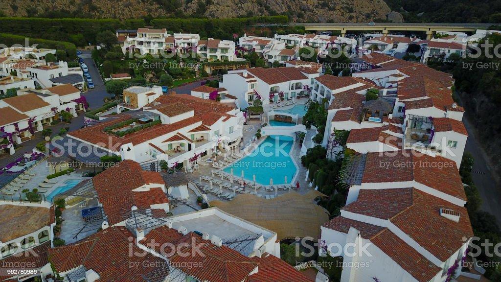 Poltu Quatu, Sardinia - Foto stock royalty-free di Ambientazione esterna