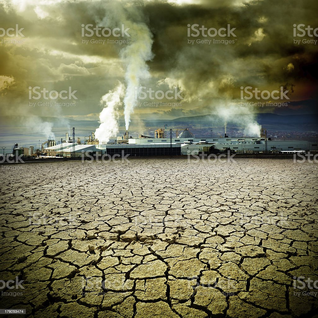polution and contamination  concept stock photo
