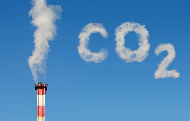 co2 polution (new!!!) - co2 bildbanksfoton och bilder