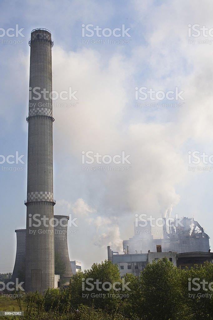 polution royalty-free stock photo
