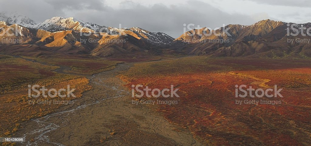 Polychrome Hills stock photo