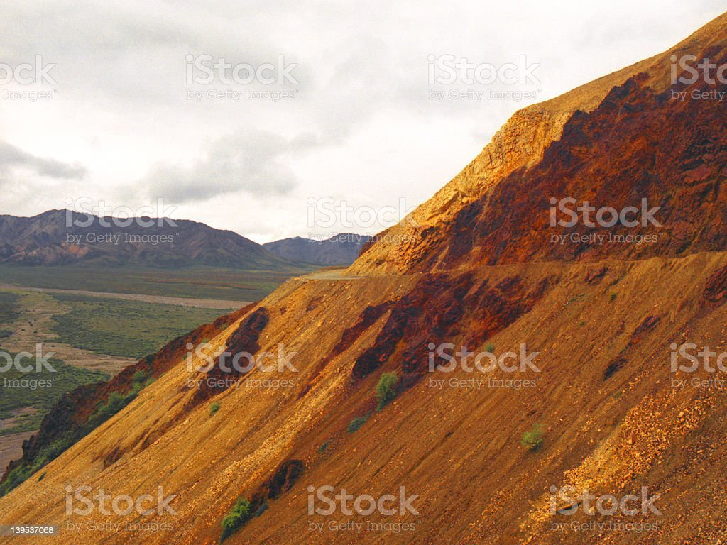 Polychrome Pass royalty-free stock photo