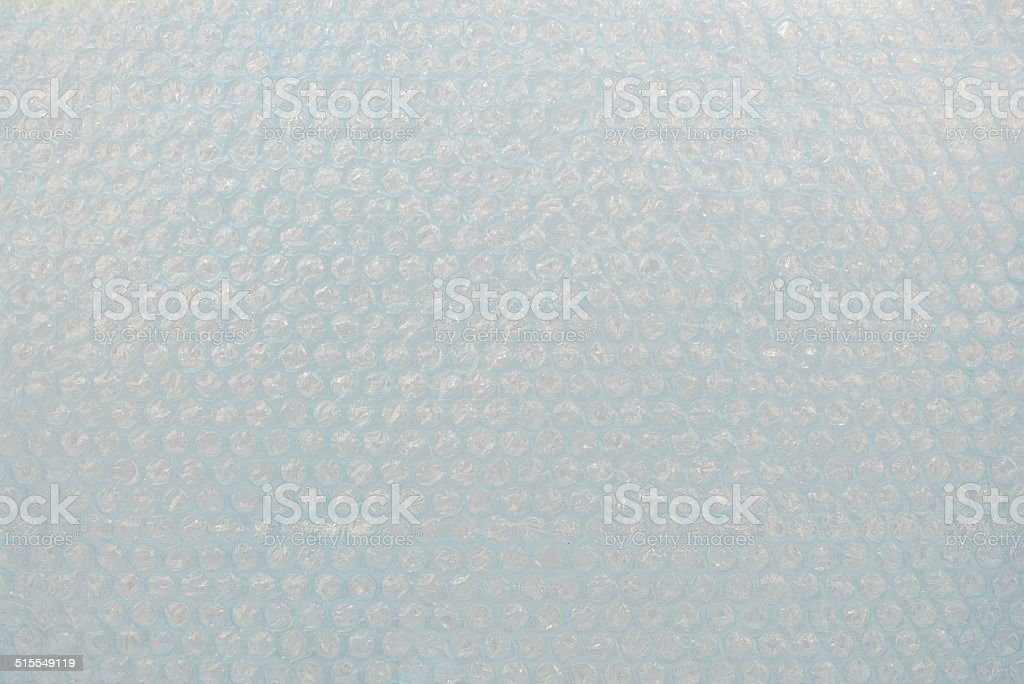Polyethylene Air Bubble stock photo