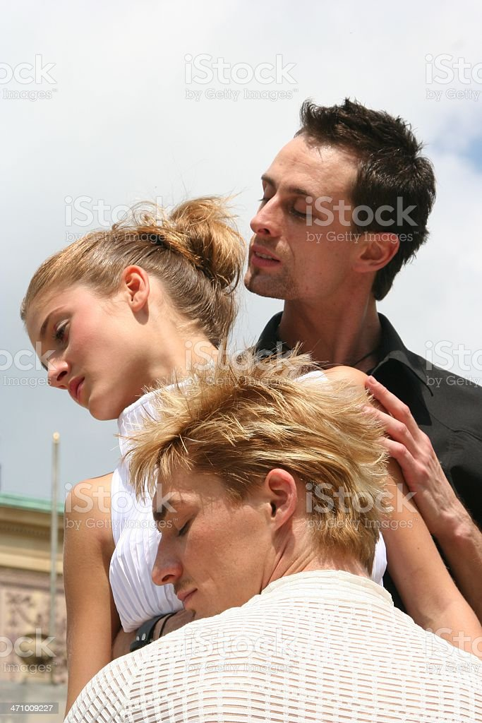 polygamy royalty-free stock photo