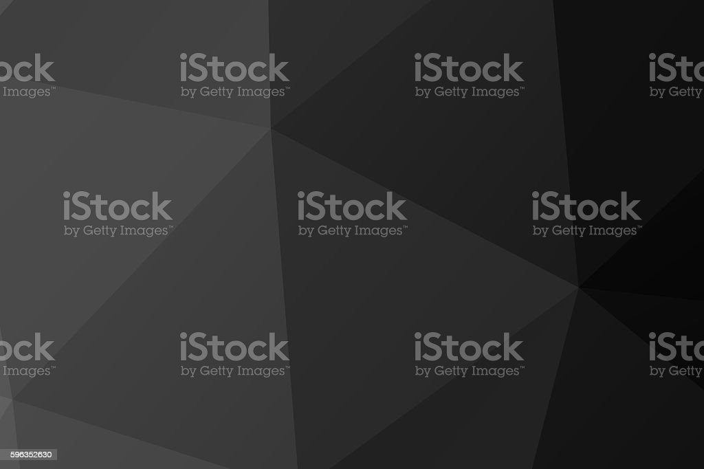 Polygon. black low poly abstract background royalty-free stock photo