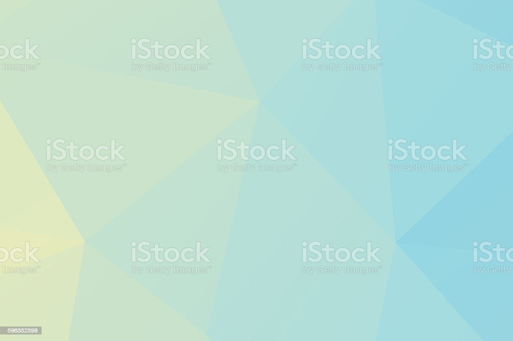 Polygon. blue low poly abstract background royalty-free stock photo