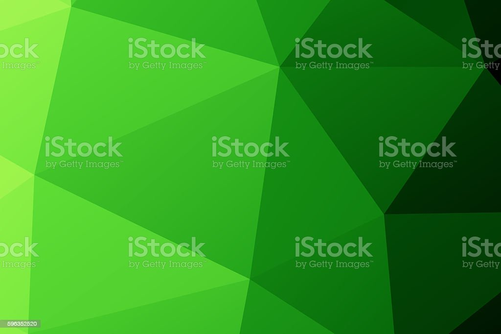 Polygon. green low poly abstract background royalty-free stock photo