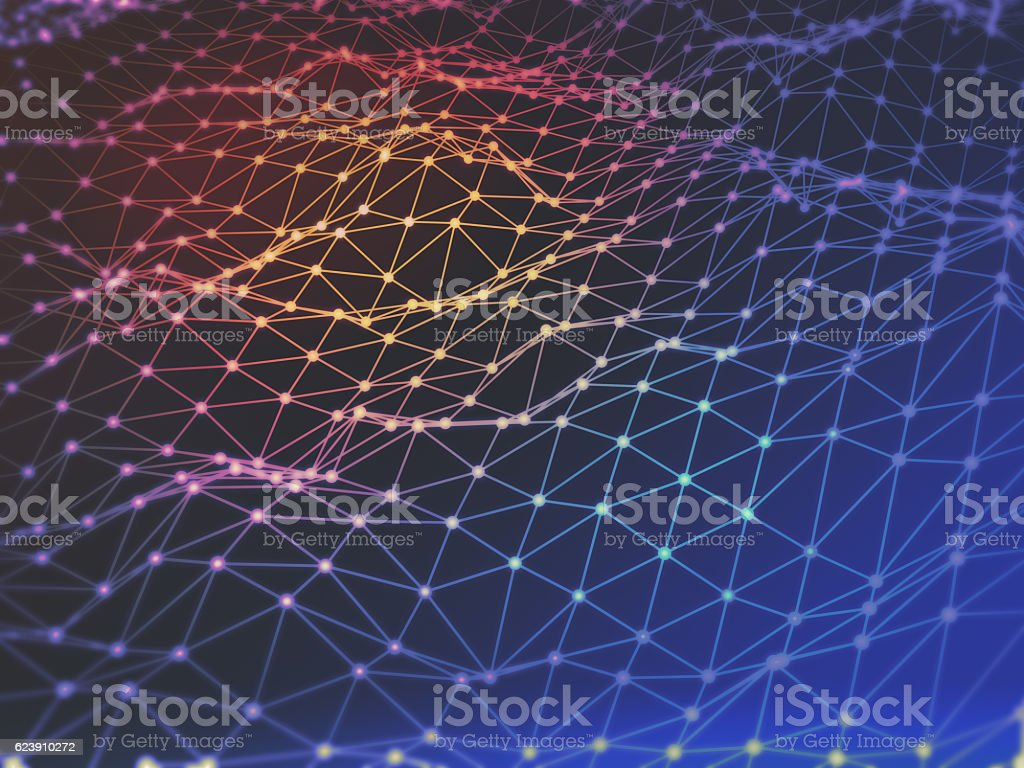 polygon space low poly dark background stock photo