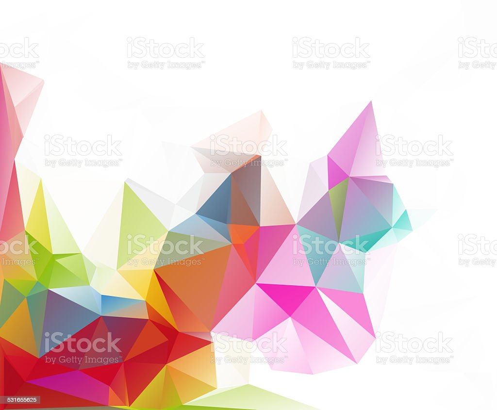 polygonal mosaic background,Business design templates stock photo