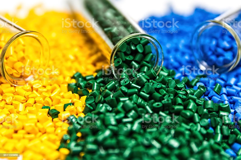 Colorante Polimérico Pellets De Plástico En Los Gránulos Del ...