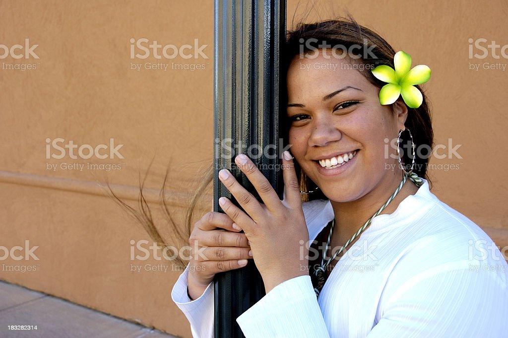 Polynesian Fun stock photo