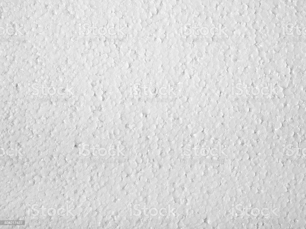 Polystyrene closeup stock photo