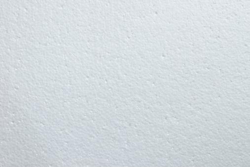 white polystyrene foam texture background