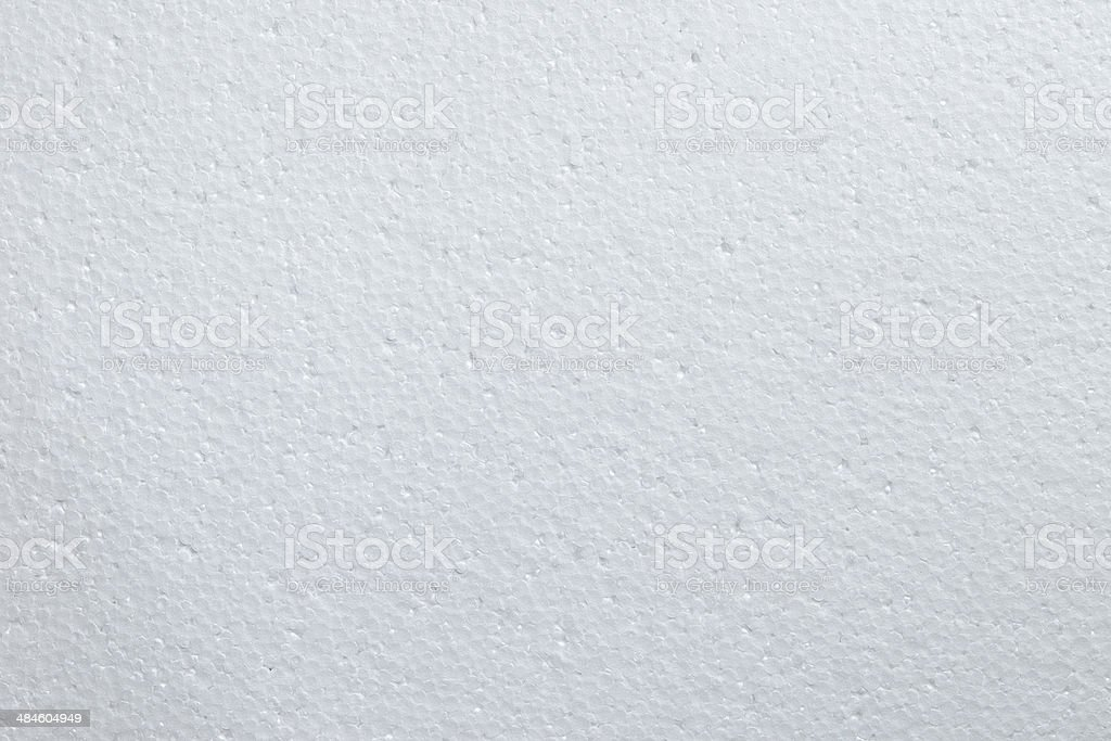 Polystyrene foam texture background stock photo