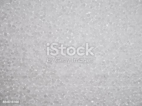 istock Polystyrene foam texture 834616166
