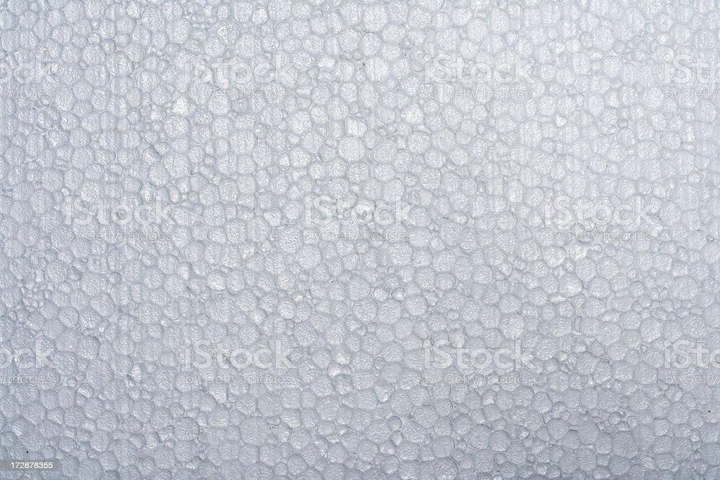 Polystyrene stock photo
