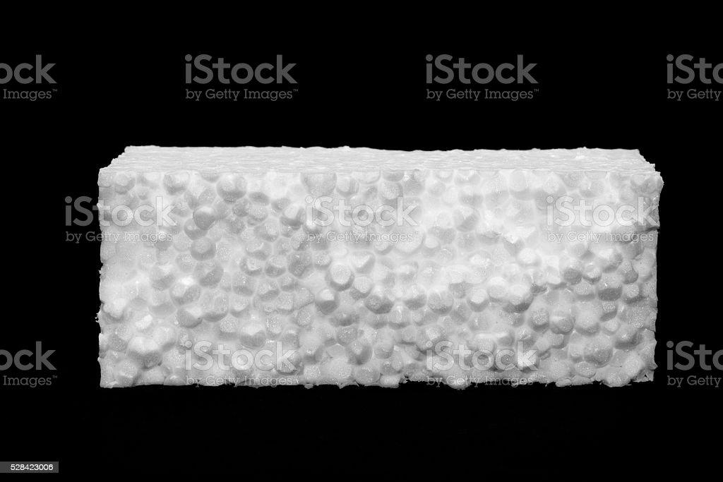 Polystyrene sheet stock photo