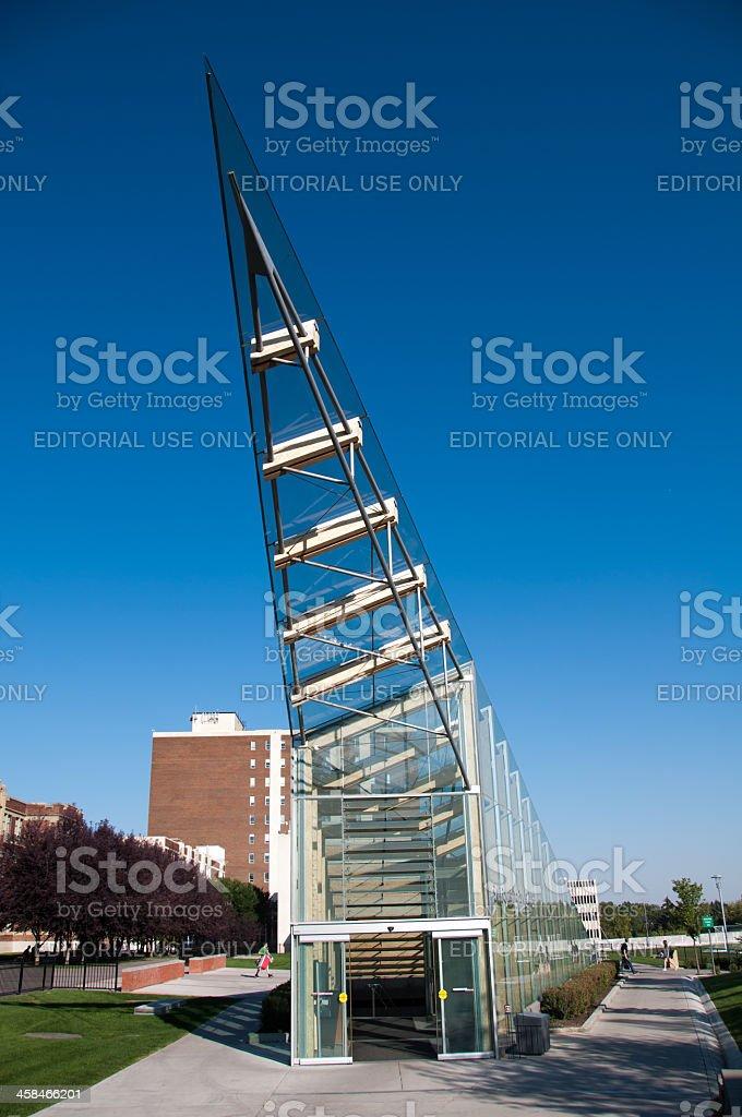 SAIT Polytechnic school buildings stock photo